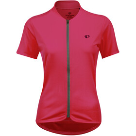 PEARL iZUMi Quest Maillot Manches courtes Femme, cerise/turbulence